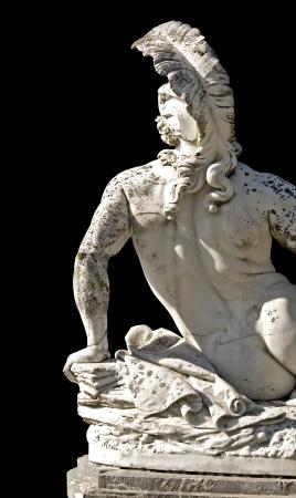 Achilles statue, Achilleion palace, Corfu island, Greece photo