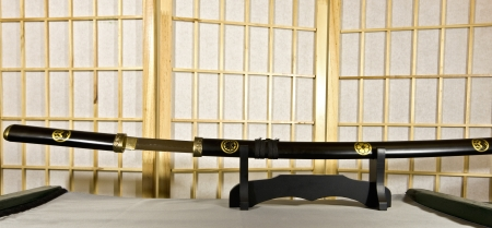 tsuka: Traditional Japanese samurai sword