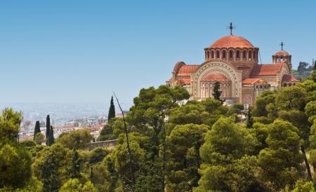 thessaloniki: Church of Saint Pavlo at Thessaloniki, Greece