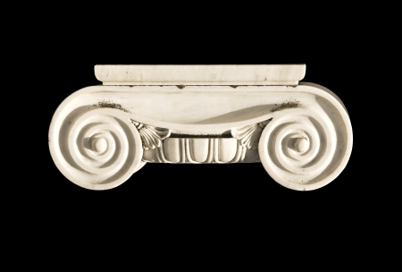 Detail of an ionic order capital photo