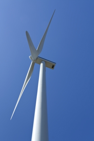 amplify: Electric power wind generators close up  Stock Photo