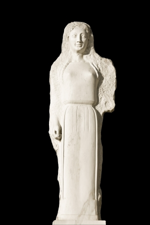 ishtar: Replica of an ancient Greek statue