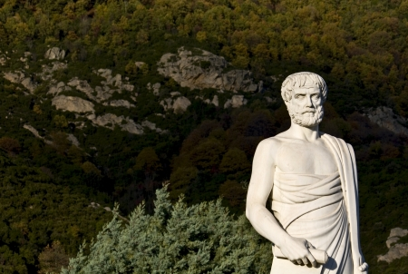 statuary: Aristotle statue located at Stageira of Greece