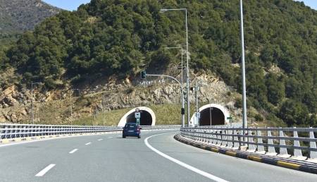 Egnatia international highway at Greece photo
