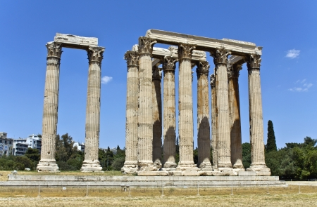 olympian: Temple of the Olympian Zeus at Athens, Greece