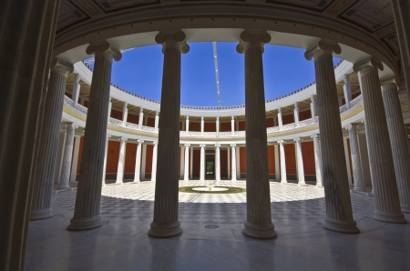 economic revival: Zappeion megaron at Athens, Greece