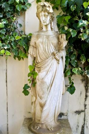 repo: Achilleion palace at Corfu island in Greece Stock Photo