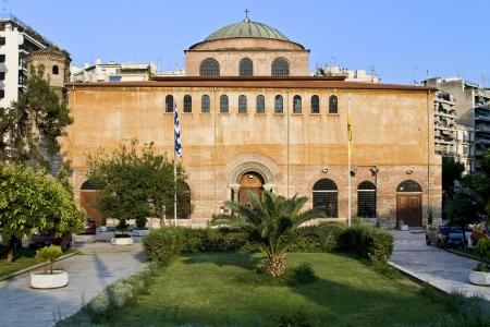 byzantine: Byzantine orthodox church at Thessaloniki, Greece