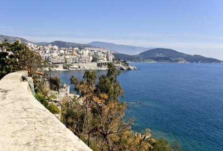 Old city of Kavala in Greece  Stock Photo