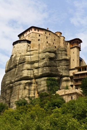 thessalia: Monastery at Meteora near Kalambaka in Greece