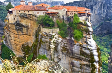 thessaly: Monastery at Meteora near Kalambaka in Greece