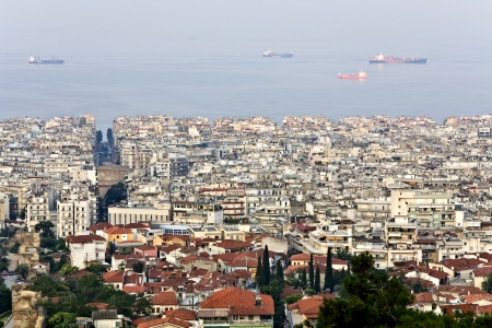 Thessaloniki city, at Macedonia province in Greece