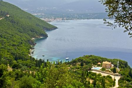Kefalonia island in Greece at the ionian sea Stock Photo - 15913304