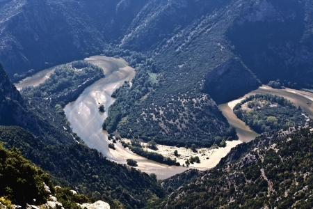 Nestos river at Thrace, Greece Stock Photo - 15922742