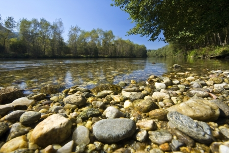 Nestos river at Thrace, Greece Stock Photo - 15922171
