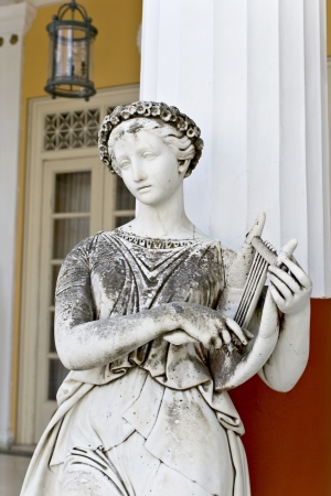 philosophy of music: Achilleion palace at Corfu island in Greece Editorial