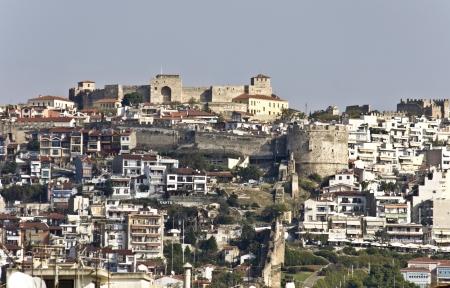 koule: The castle of Yenti Koule of Thessaloniki city in Greece