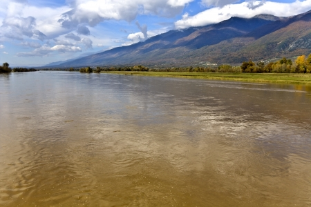 River Strymonas at North Greece  Stock Photo - 15911040