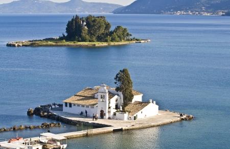 ionio: Pontikonisi area at Corfu island, Greece