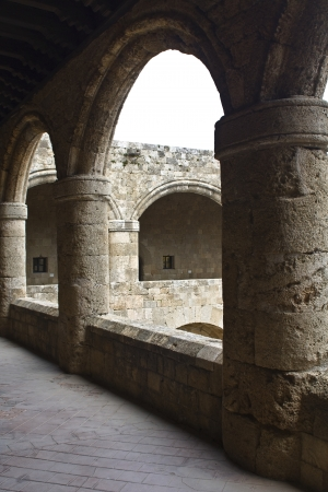 apses: Archaeological museum of Rhodes at Greece