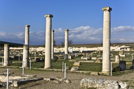 alexandros: Ancient Pella at Macedonia in Greece