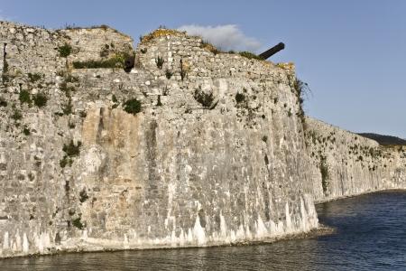 ionio: Castle of Ayia Mavra at Lefkada island, Greece
