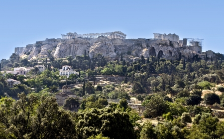 economic revival:  The Acropolis of Athens in Greece