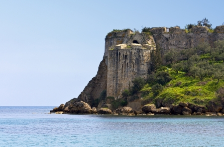 peloponnise: Koroni castle at Peloponnese, Greece