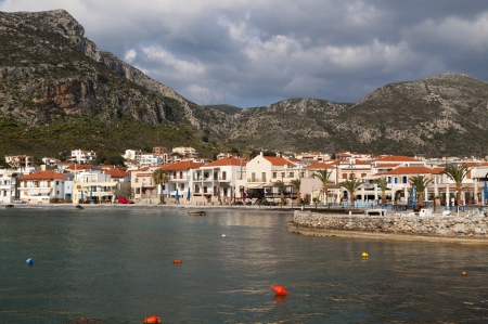 laconia: The traditional village of Monemvasia in Greece