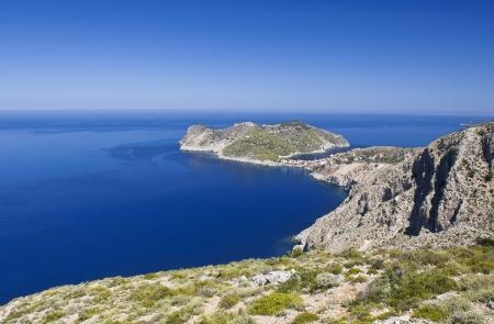 cefalonia: Kefalonia island in Greece at the ionian sea