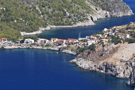 greek islands: Kefalonia island in Greece at the ionian sea