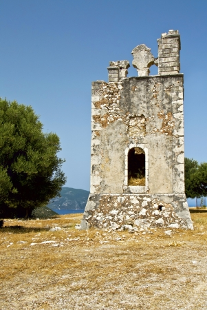Old monastery at Kefalonia island in Greece