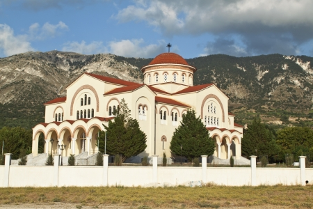kefalinia: Saint Gerasimos at Kefalonia island in Greece