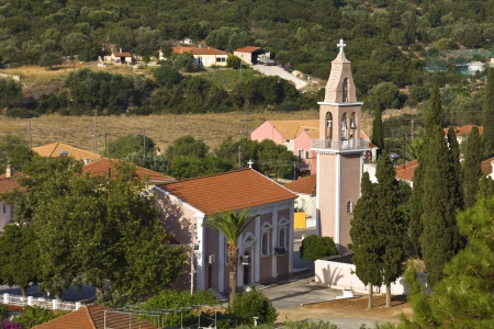 kefallonia: Orthodox church at Kefalonia island in Greece