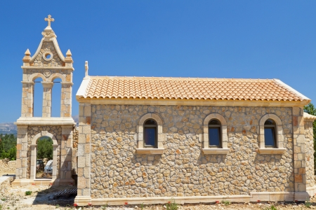 Traditional church at Kefalonia island in Greece