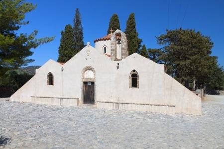 kreta: Panagia Kera at Lasithi of Crete island in Greece