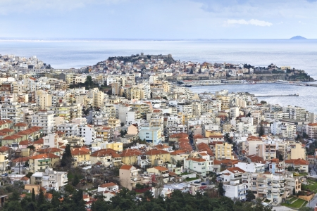 Kavala city at North Greece, province of Macedonia  Stock Photo - 15926908