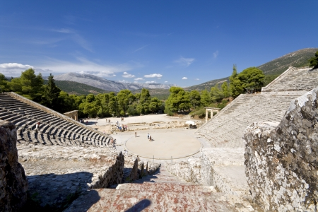 peloponnesus: Ancient Epidaurus at Peloponnese, Greece