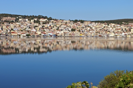 kefalinia: Argostoli city at Kefalonia island in Greece