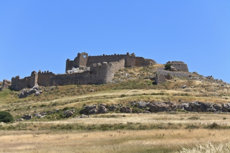 peloponnise: Castle of Larissa at Argos, Peloponnesus, Greece
