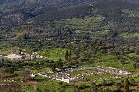 peloponnise: Ancient Messene at Kalamata in Greece