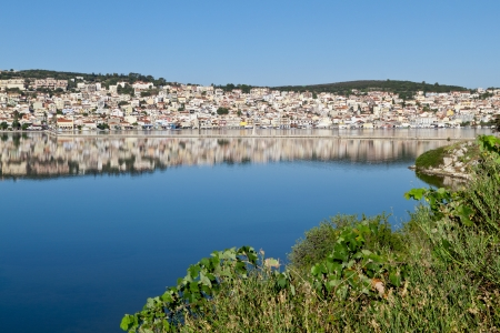 cefallonia: Argostoli city at Kefalonia island in Greece