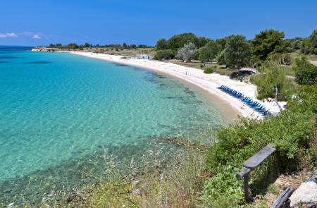 kreta: Chania city at Crete island in Greece