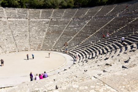 arkadia: Ancient Epidaurus at Peloponnese, Greece