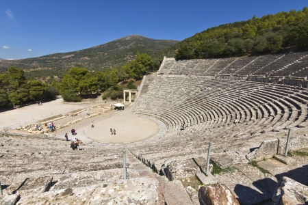 Ancient Epidaurus at Peloponnese, Greece photo
