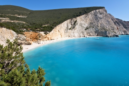 ionio: Porto Katsiki beach at Lefkada island in Greece