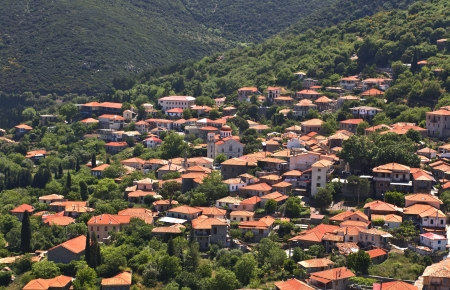 arkadia: Andritsaina traditional village at Arcadia, Greece