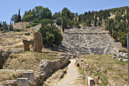 peloponissos: Ancient Argos at Peloponnesus, Greece