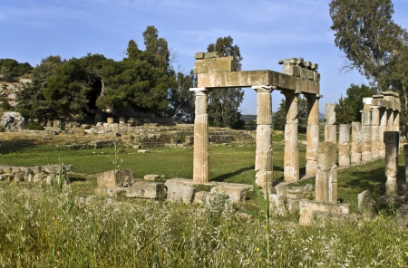 mystic place: Temple of Artemis of Vravrona at Attica, Greece