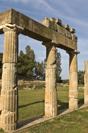 Temple of Artemis of Vravrona at Attica, Greece  photo